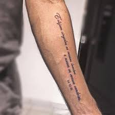 The Bible Verse Tattoo On Arm For Men