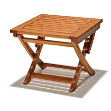 Chichester FSC Eucalyptus Wood Outdoor Side Table