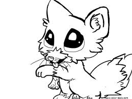 Cute Little Animal Free Printable Coloring Pages