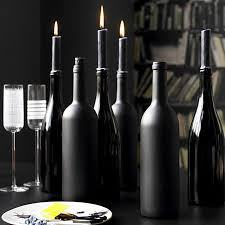 Decorative Wine Bottles With Lights by Wine Bottle Centerpieces Budget Friendly And Looking Chic