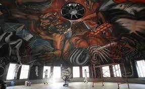 Jose Clemente Orozco Murales by Restauran Mural De José Clemente Orozco Afectado Por Sismo