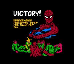 Ending For Spiderman Return Of The Sinister Six NES