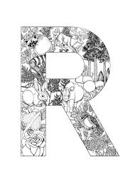 1000 Images About Alphabet Coloring On Pinterest