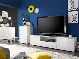 tv lowboard weiß hochglanz 165 cm tv board spice