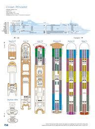Star Princess Baja Deck Plan by Cruise Atlas 2013 Princess Cruises By Cruise Master Issuu