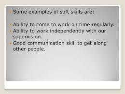 Hard Skills Examples
