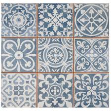 Ceramic Tile Pei Rating by Faventie Azul 13