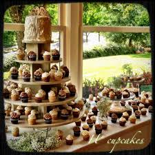 Suit Choose Wedding Cupcake Display Table Some Cool Flavors And Colors To Fall Diy Ladder