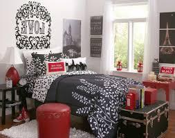 Bedroom Ideas Red Black And White Gray Fur Rug Minimalist Silk