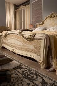 schlafzimmer set in beige klassisch 180x200 cm mit