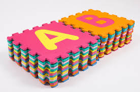 Kids Play and Storage Children s Alphabetical Floor Play Mat