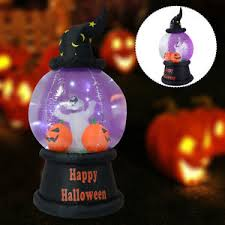 Halloween Blow Up Decorations For The Yard by 7 Ft Halloween Inflatable Snow Globe Lighted Yard Indoor