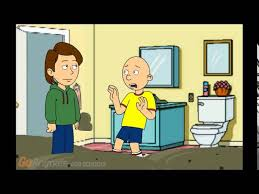 Caillou In The Bathtub Reaction by Caillou Disturbs His Mom In The Bathroom Grounded Leclife