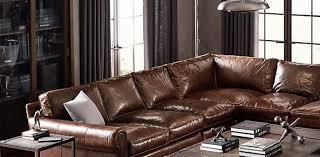 Restoration Hardware Lancaster Sofa Leather by Sofa Restoration Hardware Leather Sofa Admirable U201a Exceptional