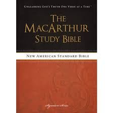 The MacArthur Study Bible NASB John