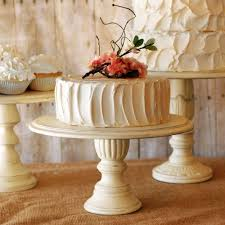 Shabby Chic Wooden Tiered Cupcake Stand