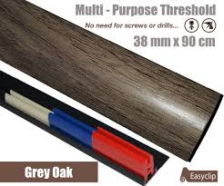Types Of Transition Strips For Laminate Flooring by Easyclip 38x90cm Threshold Transition Cover Strip Multi Purpose