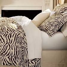 Zebra Print Bedroom Decor by Zebra Prints And Decoration Patterns Personalizing Modern Bedroom