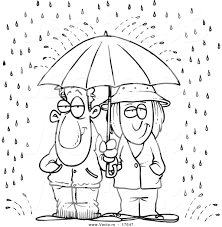 Sharing Bible Coloring Pages Free Printable Vector Cartoon Umbrella Rain Page Outline For Toddlers Full