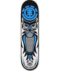 element nyjah huston night owl 8 0 skateboard deck zumiez