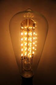 led bulbs dimmable edison teardrop clear