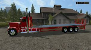 PETERBILT 388 FLATBED CUSTOM DAYCAB V1 MOD - Farming Simulator 2015 ... Flat Deck Truck Beds And Dump Bodies Custom Alinum Ladder Racks Pipe Rack For Flatbed Box And Convert Your Pickup To A 7 Steps With Pictures Custom Chevy Flatbed Trucks Marycathinfo Pin By Keith Stringham On Fun Stuff Pinterest Toyota Offroad Economy Mfg Beds Hartstra Manufacturing Hauling To The Hills Part Ii Bed Front Bumper More For Oskaloosa Farm Steel Firm Offers Special Defender Flatbeds Cs Diesel Beardsley Mn