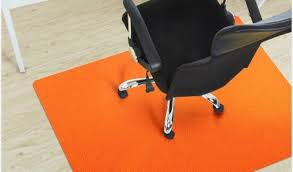 Desk Chair Mat For Carpet by Carpet Cover For Office Chair Purchase Orange Home Office Chair