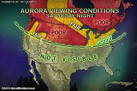 Aurora Borealis tonight Dazzling northern lights forecast