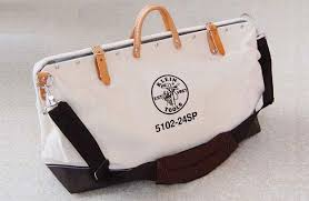 klein deluxe canvas tool bag canadian woodworking magazine