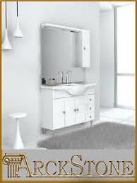 details zu arckstone mobil möbel vom badezimmer holz spiegel weiß klassisch gemma 85