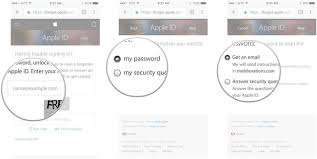 Forgot Apple ID Password How to Reset Apple ID and Apple Password