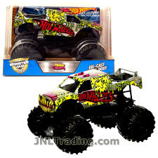 Hot Wheels Year 2017 Monster Jam 1:24 Scale Die Cast Metal Body ... Hot Wheels Trackin Trucks Speed Hauler Toy Review Youtube Stunt Go Truck Mattel Employee 1999 Christmas Car 56 Ford Panel Monster Jam 124 Diecast Vehicle Assorted Big W 2016 Hualinator Tow Truck End 2172018 515 Am Mega Gotta Ckc09 Blocks Bloks Baja Bone Shaker Rad Newsletter Dairy Delivery 58mm 2012 With Giant Grave Digger Trend Legends This History Of The Walmart Exclusive Pickup Series Is A Must And