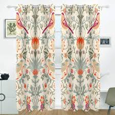 Amazoncom JSTEL Christmas Curtains Drapes Panels Darkening