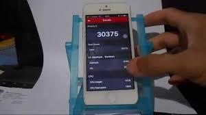 Antutu Benchmark Test iPhone 5 Refurbished