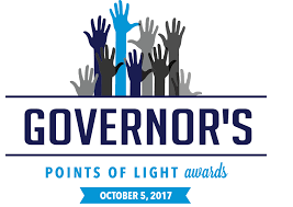 2017 Governor s Points of Light Awards Ceremony