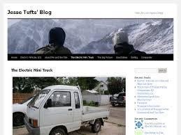 The Electric Mini Truck   Jesse Tufts' Blog