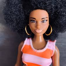 Barbie Purely Pinstriped 76 Fashionista Curvy Doll In 2018