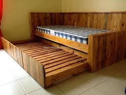 Palette Bed Pallet Bed Plan Pallet Bed Frame Easy – golbiprint