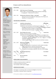 Resume Sample Student Pdf Format For Students 8 12 A Cv