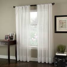 Crushed Voile Curtains Grommet by Sheer Curtains U0026 Drapes Kohl U0027s