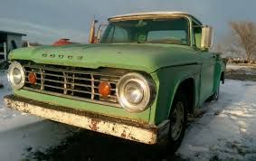 100 67 Dodge Truck 19 DODGE D100 12 TON PICKUP SHOP TRUCK PATINA PROJECT SHORT BED