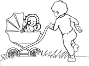 Baby Bumblebee Coloring Pages