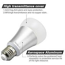 yangcsl e26 led color changing light bulb 10w dimmable rgb led