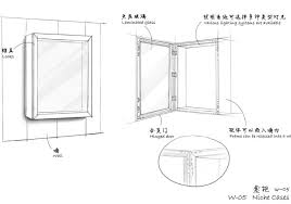 Museum Wall Display Cases Niche W 05