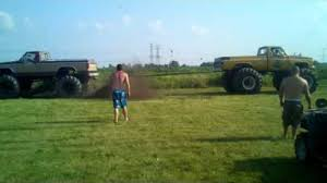 100 Truck Tug Of War Ford Destroys Chevy In Epic Game Of Truck Tug O War