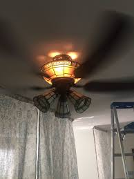Hampton Bay Ceiling Fan Light Bulb Change by Lighting Accessing Light Bulbs On Ceiling Fan Home Improvement