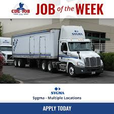CDL Job Now - SYGMA Is Hiring Class A Drivers At All Of... | Facebook Robbie Bringard Vp Of Operations Sysco Las Vegas Linkedin 2017 Annual Report Tesla Semi Orders Boom As Anheerbusch And Order 90 Teamsters Local 355 News Fuel Surcharge Class Action Settlement Jkc Trucking Inc Progress Magazine September 2018 By Modesto Chamber Commerce Jobs Wwwtopsimagescom Asian Foods California Utility Seeks Approval To Build Electric Truck Charging