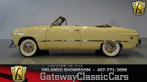 1949 Ford Custom Convertible Gateway Classic Cars Orlando #492 - YouTube
