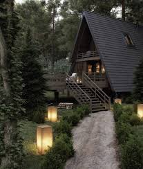 100 House In Forest In 2019 House A Frame Cabin Log Home