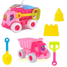 100 Pink Dump Truck Amazoncom Bigbuyu 5 Pieces Sand Beach Playset Kids Sand
